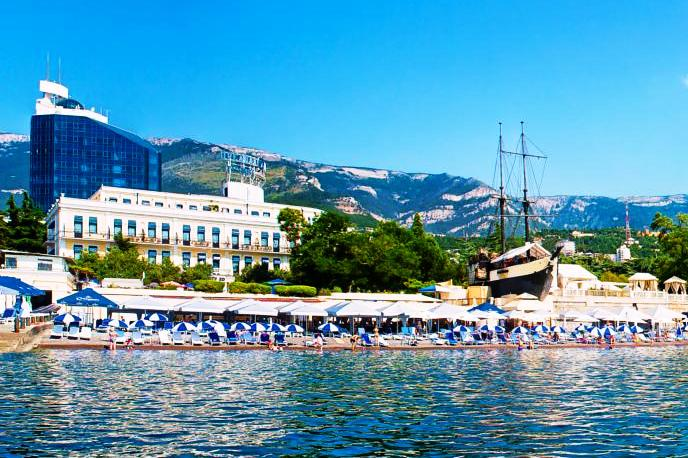 Hotel Oreanda in Yalta