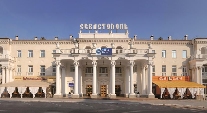 Hotel Sevastopol in the centre of Sevastopol